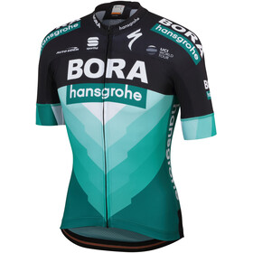 Sportful Team Bora-HG Bodyfit SS Jersey Herren black-green